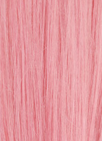 Pale Pink Human Hair Extensions 10