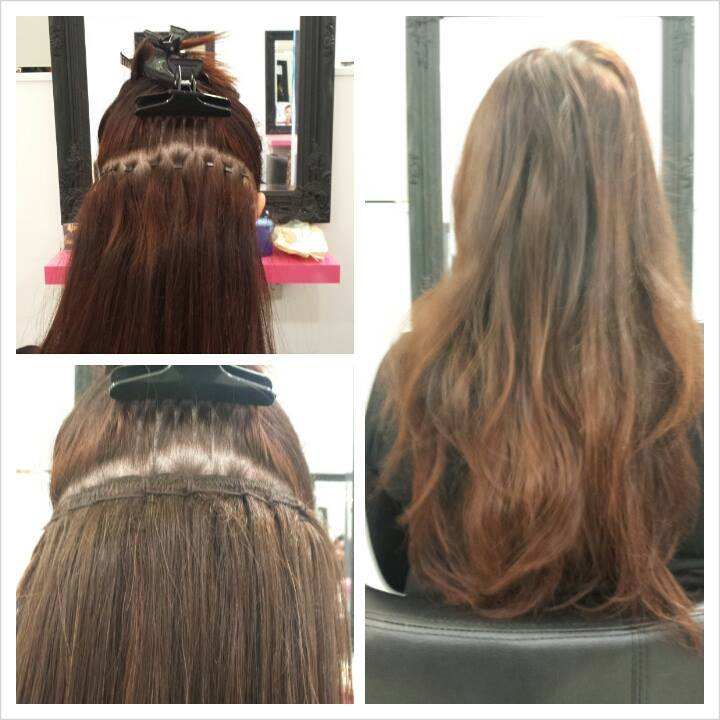 Micro Loops Hair Extensions Glasgow Human Hair Extensions