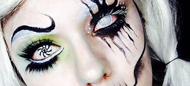202a1d64d0 Are you thinking of wearing contact lenses this Halloween? Have the horror  stories you've heard over the years been putting you off?