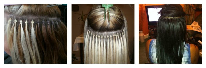 Hair extensions fittings pauls hair world a lot of people may get this confused with pre bonded fitting the difference with this method is there is no glue or heat applied to the hair extensions pmusecretfo Gallery