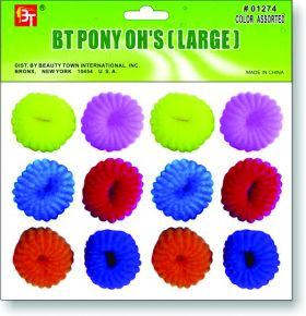 Beauty Town Pony O's Large Multi  #01274