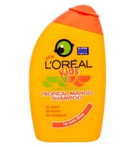 Loreal Kids Extra Gentle 2 in 1 Tropical Mango Shampoo 250ml