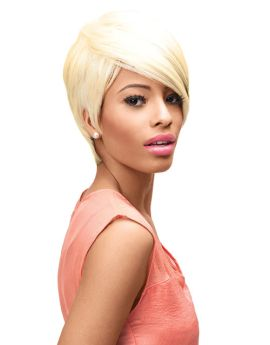 ONLINE EXCLUSIVE Blonde Sleek Ebony Wig