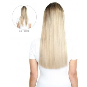 ONLINE EXCLUSIVE Ashy / Silver Beauty Works Invisi®-Tape Hair Extensions 20 Inch 40g