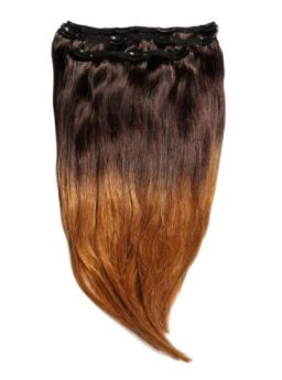 Ombre / Dipdye Deluxe Remi Clip Ins By Beauty Works 140g