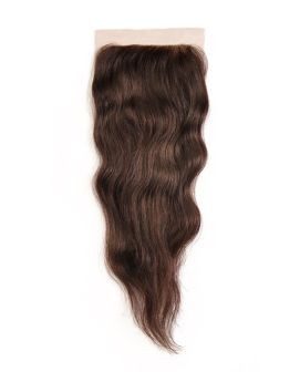 Feme 4x4 Lace Parting Closure Natural Wave 12""