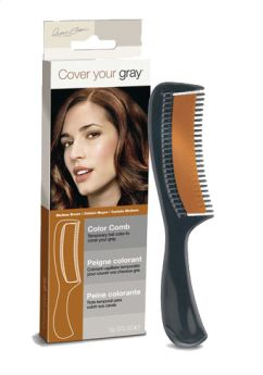 Cover Your Grey Medium Brown Colour Comb