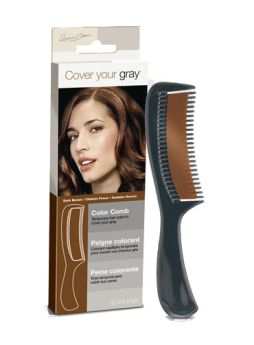 Cover Your Grey Dark Brown Colour Comb