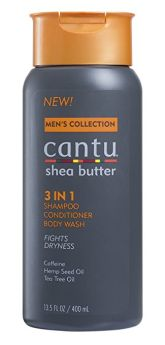 Cantu 3 in 1 Shampoo, Conditioner & Body Wash 400ml