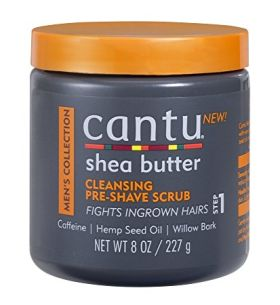 Cantu Men's Collection Cleansing Pre Shaving Scrub 277g