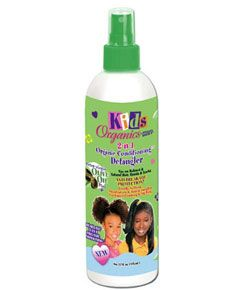 Africas Best Kids Organics 2 in 1 Organic Conditioning Detangler 355ml