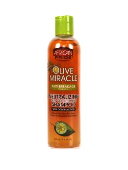 African Pride Olive Miracle Neutralizing Deep Conditioning Shampoo 237ml