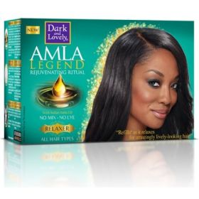 Dark and Lovely Amla Legend No-Lye Relaxer All Hair Types