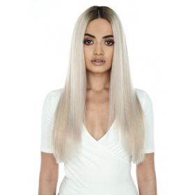 Greys / Ashy Beauty Works Celebrity Choice Remi Human Hair Extension Weft 120g