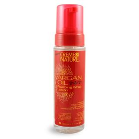 Creme Of Nature Argan Oil Foaming Wrap Lotion 207ml
