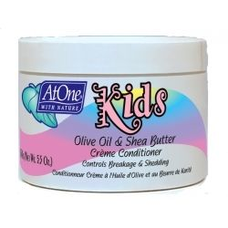 At One Kids Olive Oil & Shea Butter Creme Conditioner 154g