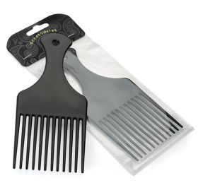 Black colour hair comb