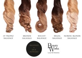 Beauty Works Gold Balayage / Root Stretch 150g Weft Remi Extensions