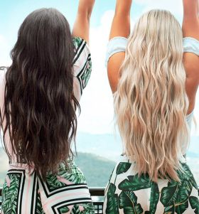 Mermaid Lengths 24 Inch Beauty Works Stick Tip Remi Hair Extensions 50g