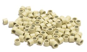 Beauty Works Aluminium Micro Rings 500 Pieces - Blonde