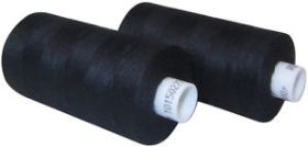 Black Sewing Cotton 100m