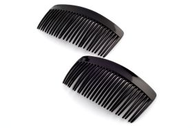 Beauty Town Classic Style Side Hair Combs 2 Pack #10511