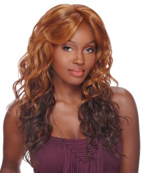 ONLINE EXCLUSIVE All Colours Sensationnel Empress Natural Lace Front Edge Synthetic Bliss