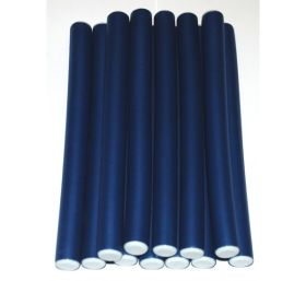 Mayfair Bendy Rubber Rods 12 Pack Blue 15mm x 250mm