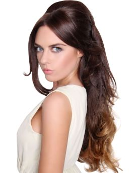 All Colours Beauty Works Double Volume Glamorous Curl Half Wig / Instant Weave