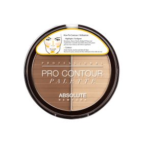 Absolute New York Pro Contour Palette Light