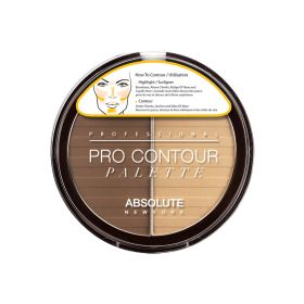 Absolute New York Pro Contour Palette Medium