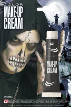 Halloween Make Up Tube In Black