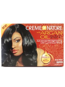 Creme of Nature Argan Oil No-Lye Relaxer Super