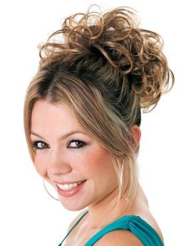 ONLINE EXCLUSIVE All Colours Clip in Updo: Hairdo by Ken Paves