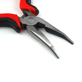 Micro Ring Pliers - Curved Tip