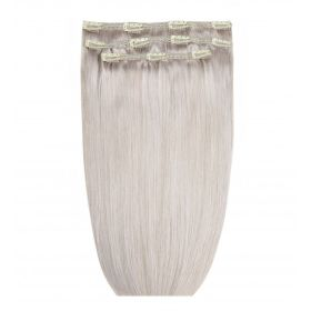 Silver Deluxe Remi Clip Ins By Beauty Works 140g