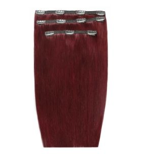 Reds & Coppers Deluxe Remi Clip Ins By Beauty Works 140g