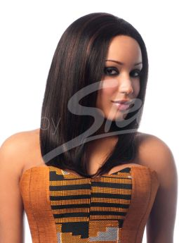 All Colours Diva 100% Human Hair Lace Front Wig 136g