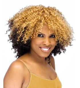 Blacks & Browns Sensationnel Premium Now Double Jerry Curl Weave 100% Human Hair Extensions 100g