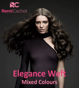 SALE Remi Cachet Elegance Luxury Weft Russian and Mongoilan Human Hair 120g