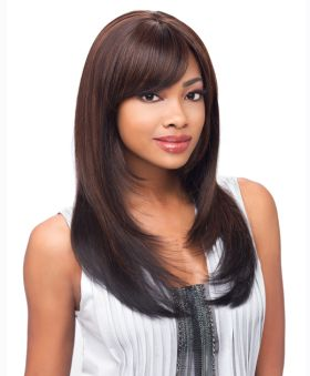 ONLINE EXCLUSIVE All Colours Sensationnel Empress Natural Lace Front Synthetic Bree