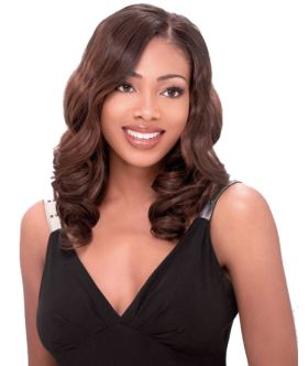 Blacks & Browns Premium Too Enchanting Weave 100% Human Hair with Premium Blend Hair