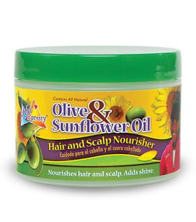 Sof N Free N Pretty Olive & Sunflower Oil Hair & Scalp Nourisher 250g