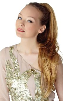 ONLINE EXCLUSIVE All Colours Glam Clip-in Ponytail by Hot Hair