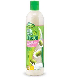 Sof n Free Milk Protein & Olive Oil Sulfate Free 2-in-1 Conditioning Shampoo 355ml
