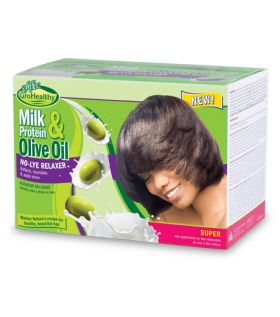 Sof n Free Milk Protein & Olive Oil No-Lye Relaxer Super