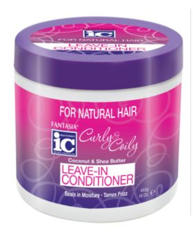 Fantasia IC Curly & Coily Leave-In Conditioner 453g