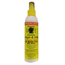 Jamaican Mango & Lime Maximum Relief No More Itch Gro Spray 8oz