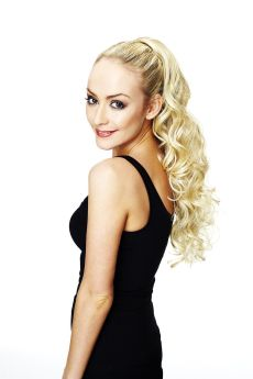 Hair Couture By Sleek Jasmin 100% Tongable Synthetic Pony Piece EX-DISPLAY