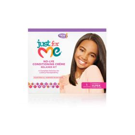Just For Me No-Lye Conditioning Creme Relaxer Super